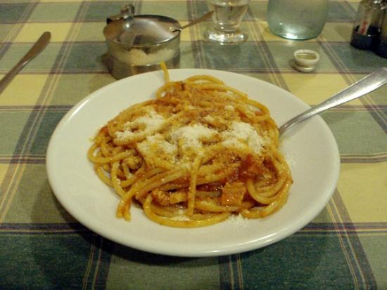 Tipico piatto romano