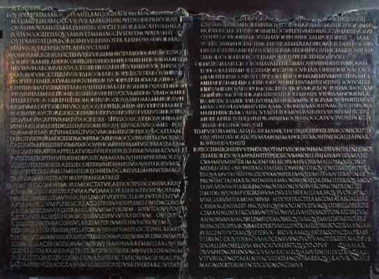 Foto della Mostra di Roma Caput Mundi