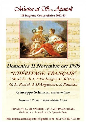 Concerto di musica classica SS Apostoli