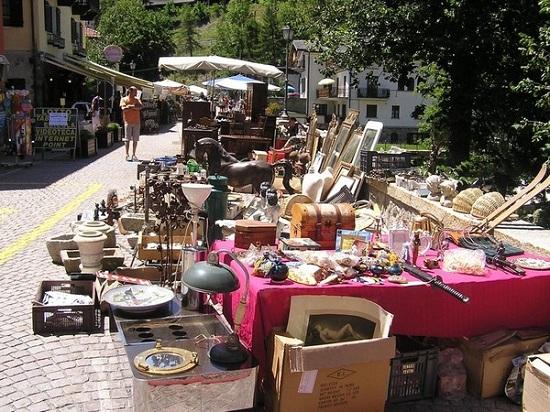 Mercato dell'antiquariato di Ponte Milvio