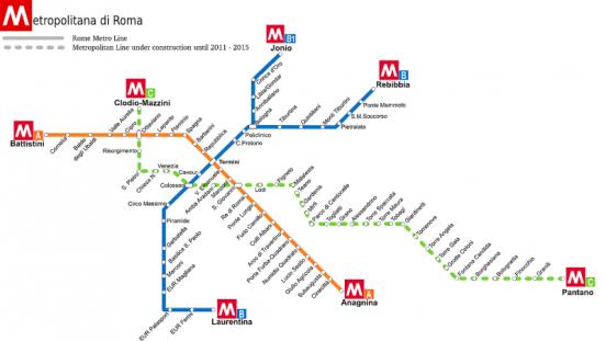 metropolitana-roma-mappa