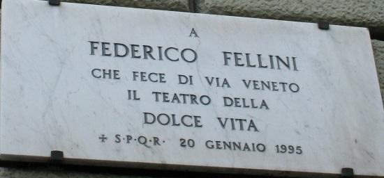 Federico Fellini e Via veneto