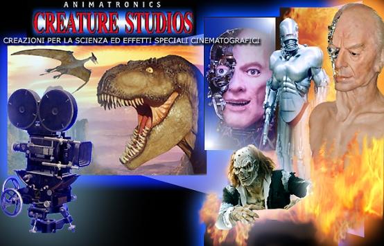 mostra creatures studios roma