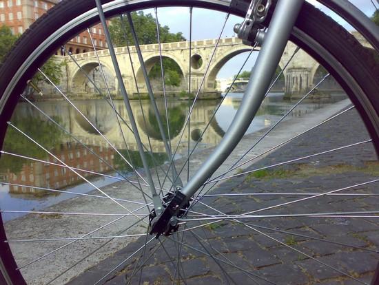 a roma in bici